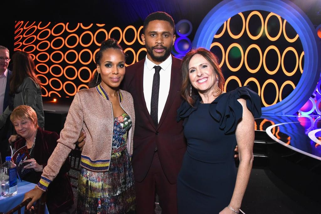 Kerry Washington and Nnamdi Asomugha the 2018 Spirit Awards