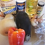 Prep all of a meal's ingredients and freeze until ready to use.