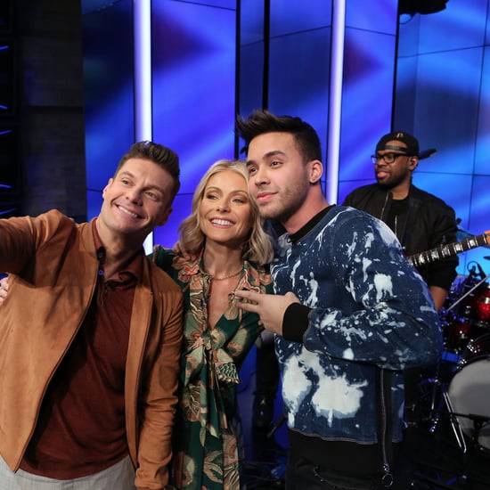 Prince Royce Teaching Kelly Ripa and Ryan Seacrest Bachata