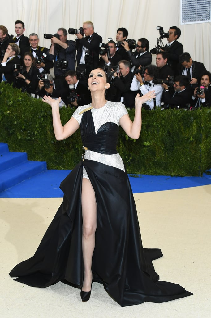 Celine Dion in Versace as . . .
