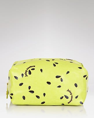 This chic little pouch will allow Mom to tote around her arsenal — bobby pins, Tylenol, tissues, etc. — in one cute little place. Juicy Couture Fruit Salad Large Zip Cosmetic Case ($52)