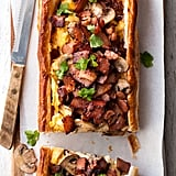 Bacon, Mushroom, and Egg Puff Pastry Tart