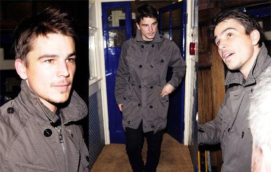 Photos Of Josh Hartnett In London, He's Starring In Rain Man In The West End