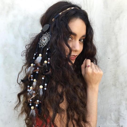 Vanessa Hudgens Festival Hair 2016