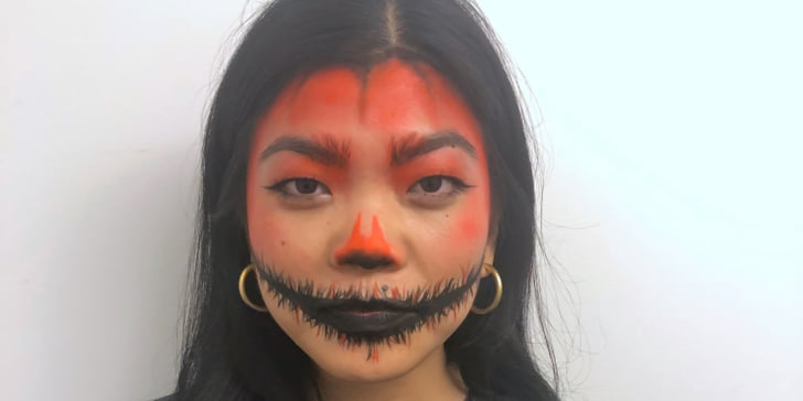 Still Don't Have a Halloween Costume? Try This Scary Pumpkin Look