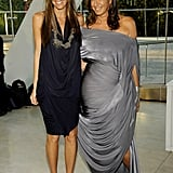 Donna Karan with eldest daughter Gabby.