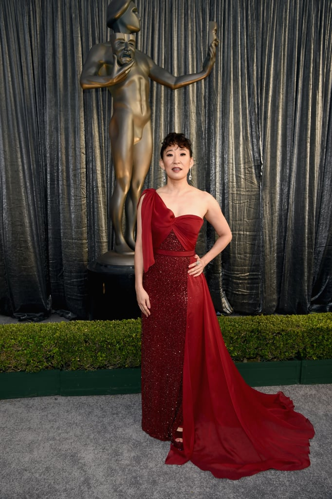 Sandra Oh at the 2019 SAG Awards
