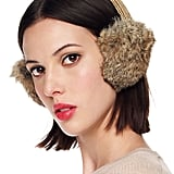 Toasty ears are inevitable with this luxe pair of Michael Kors rabbit fur ear muffs ($45). In effect, you'll be channeling your inner snow bunny, natch.