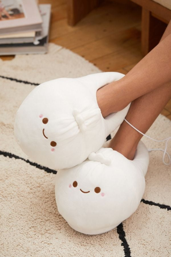 Urban Outfitters Smoko Heated Dumpling Slippers