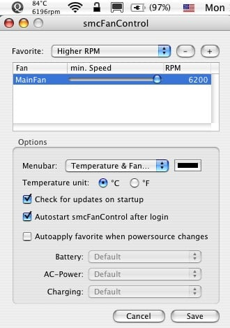 Keep Your Mac Cool by Controlling Your Laptop Fan