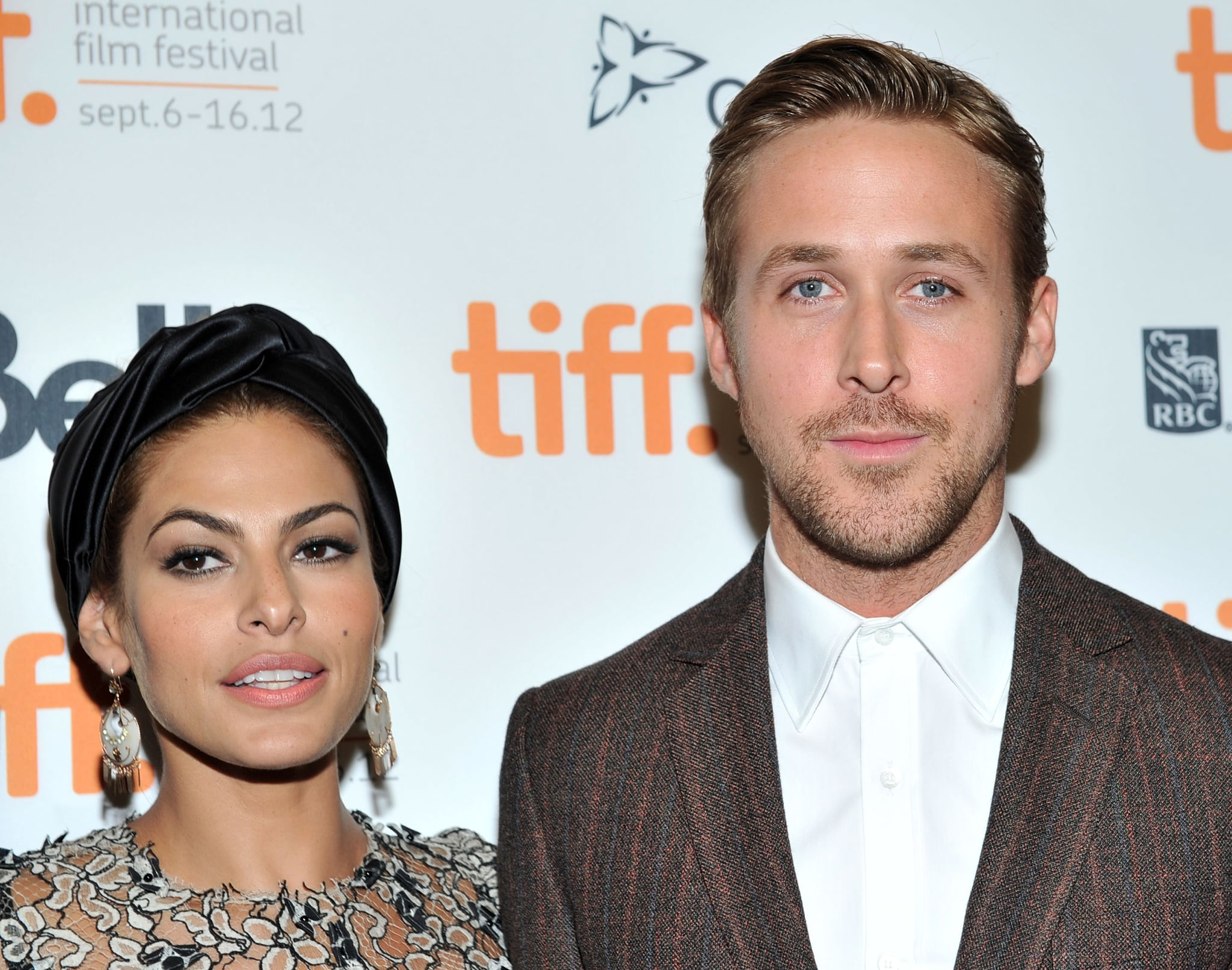 TORONTO, ON - SEPTEMBER 07: Actors Eva Mendes and Ryan Gosling attend
