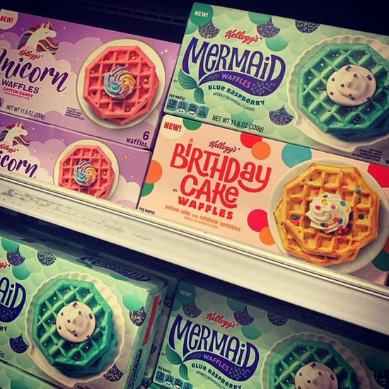Kellogg's Has New Mermaid, Unicorn, & Birthday Cake Waffles