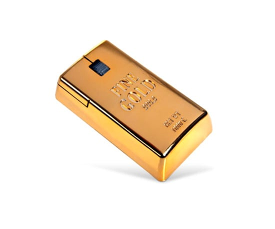 Gold Bullion Mouse ($15)