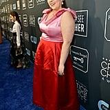 Beanie Feldstein at the 2020 Critics' Choice Awards