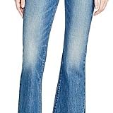 Levi's Crop Kick Flare Jeans in Indigo Junkie ($98)