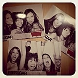 Photo booth fun at our Levi's NYC party.