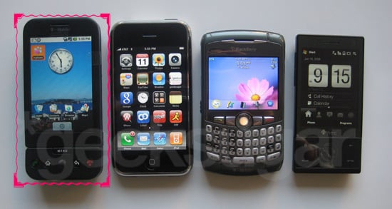Hands-On T-Mobile's G1 Android Handset