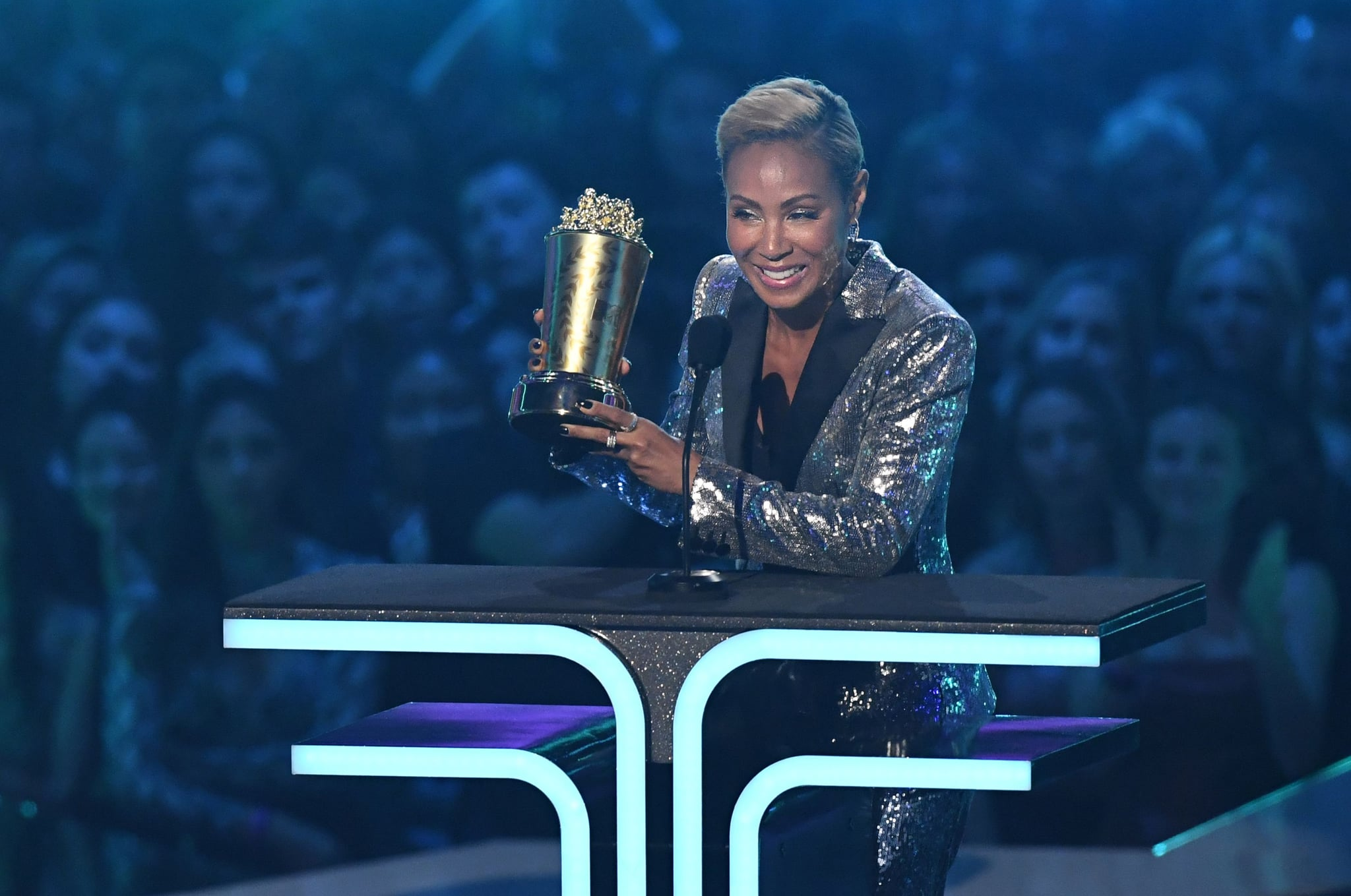 Jada Pinkett Smith's Empowering MTV Awards Speech Will Make Everyone Feel Like a Trailblazer
