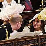 Kate Middleton and Prince William at the Royal Wedding 2018
