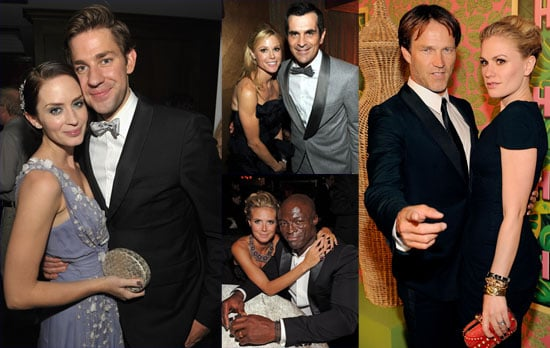 Pictures of Anna Paquin, Stephen Moyer, and More Celeb Couples Getting Cozy at the Emmy Afterparties