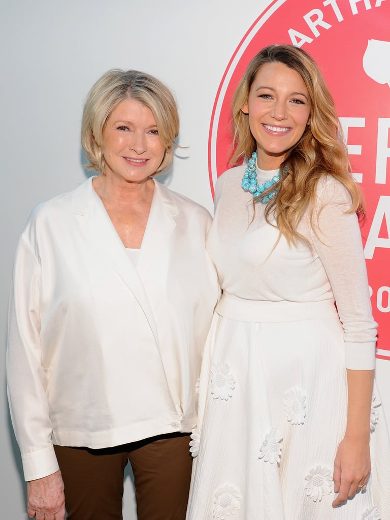 It's All Good: Blake Lively and Her Baby Bump Meet Up With Martha Stewart