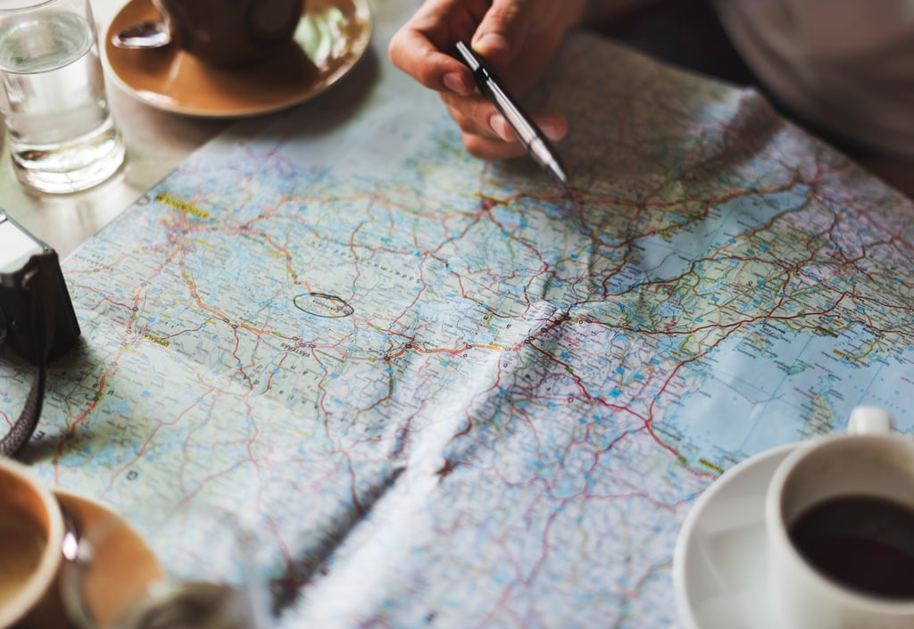 Plan the ultimate vacation, focusing on everything you want to do.