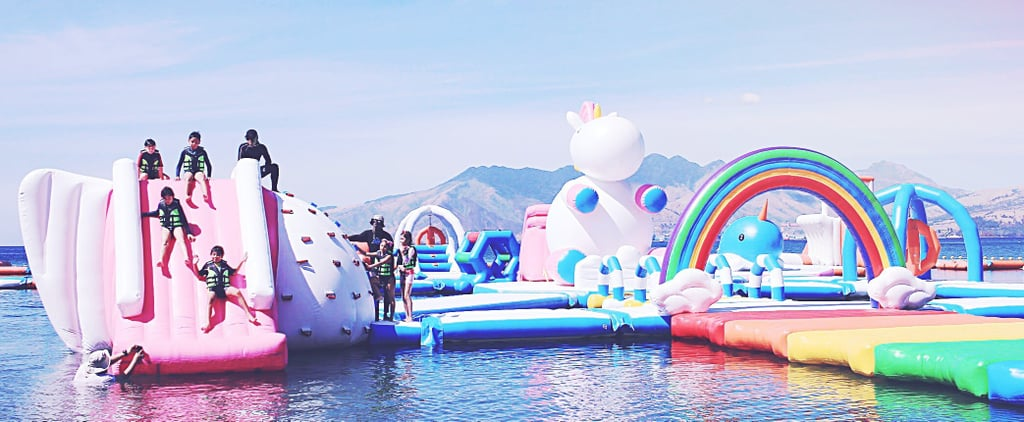 Inflatable Unicorn Playground in the Philippines