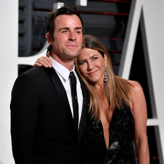 Justin Theroux Talks About Jennifer Aniston's 48th Birthday