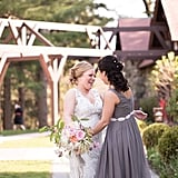 Never been happier.  Photo by Megan Dandeles Photography via Style Me Pretty
