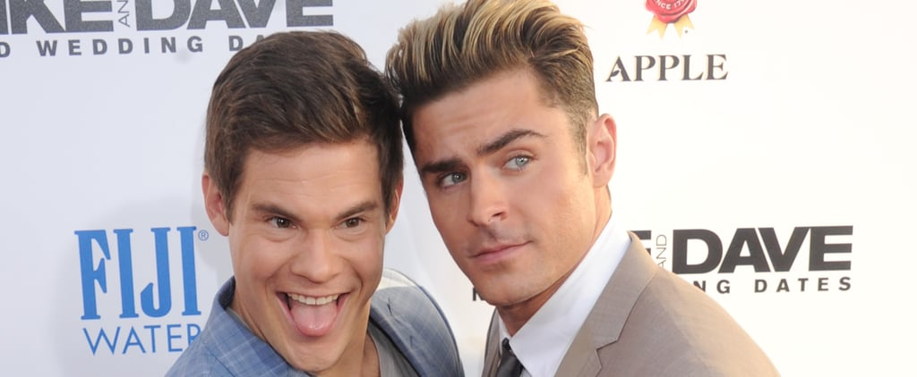 18 Times Zac Efron and Adam DeVine Took Their Bromance Off Screen