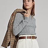 Ralph Lauren x Friends Cable-Knit Cashmere Sweater