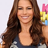 Sofia Vergara's Chestnut Hair Colour