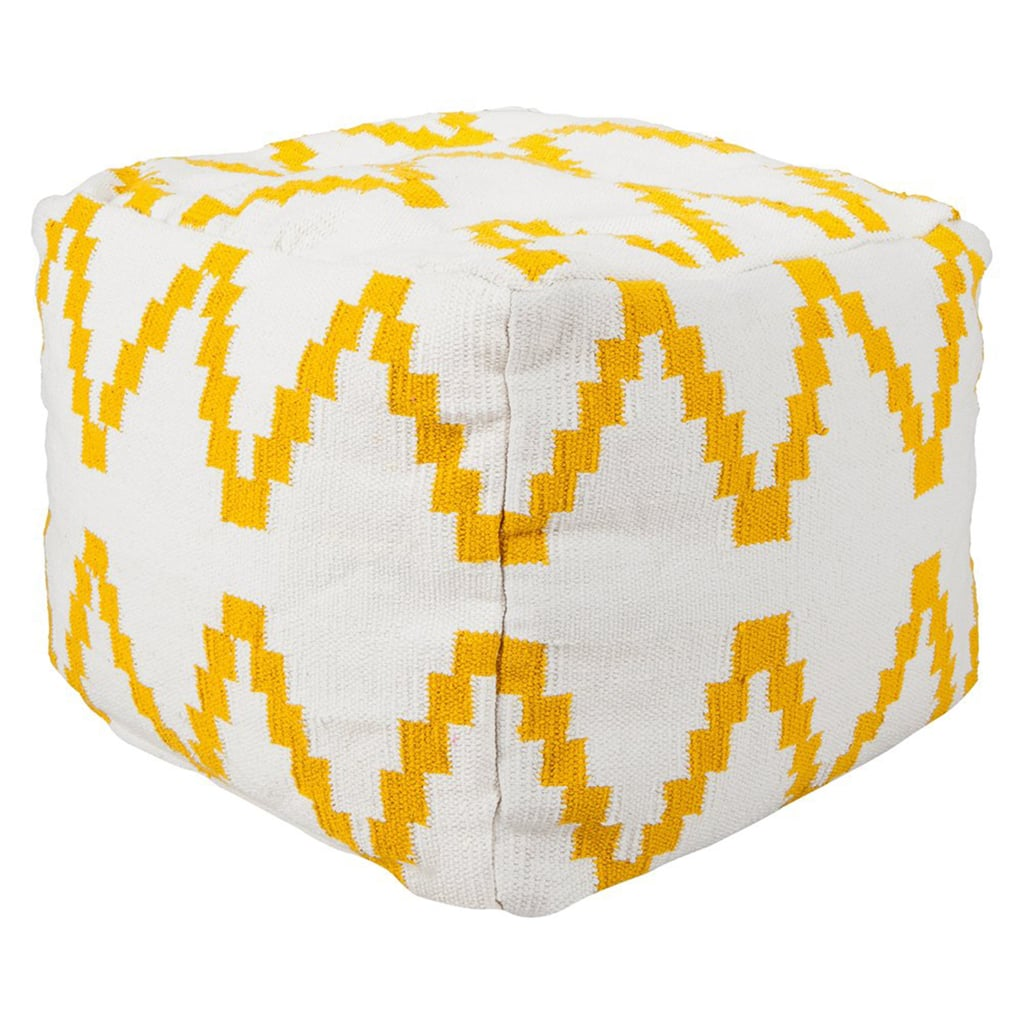 Get in on the kilim rug trend by throwing one of these kilim poufs ($56, originally $70) into a room.