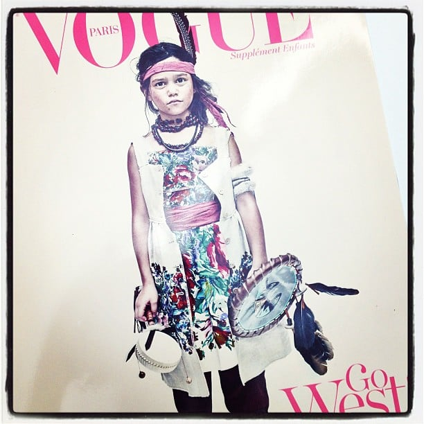 """The """"Enfants"""" issue from Vogue Paris is totally chic (and cute)!"""