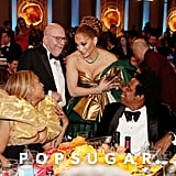 Beyoncé, Jennifer Lopez, and JAY-Z at the 2020 Golden Globes