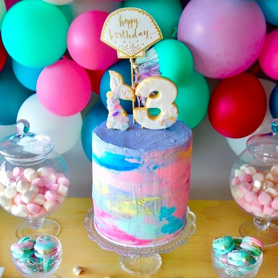 Colorful Mermaid Birthday Party Ideas
