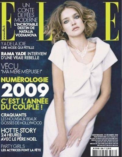 Elle France magazine covers