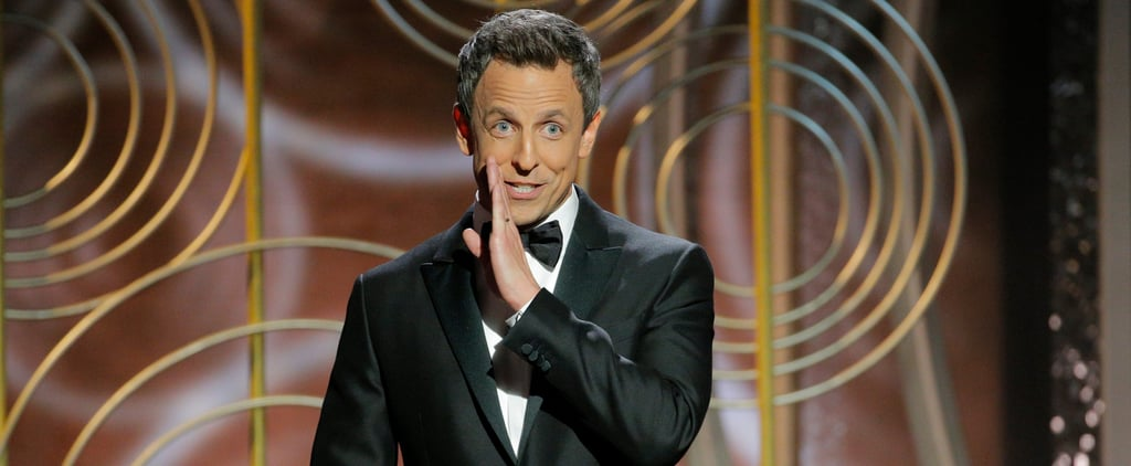 The 7 Best Jokes From Seth Meyers's Opening Monologue at the 2018 Golden Globes