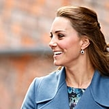 Kate's sapphires Diana's engagement ring needs no introduction, and a pair of her favourite sapphire and diamond earrings were remodelled and also gifted to Kate by William after their engagement.