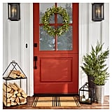 Hearth & Hand With Magnolia Artificial Lamb Ear and White Berry Wreath ($35)