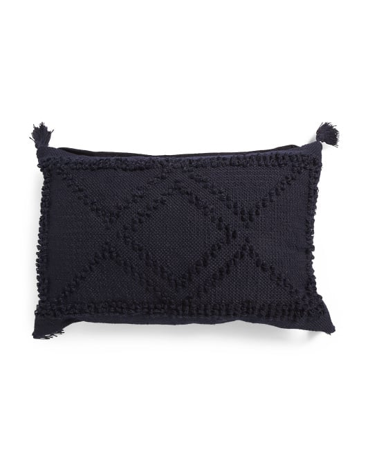 Made in India Loop Texture Pillow