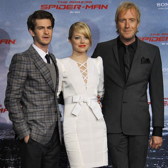 Emma Stone and Andrew Garfield Amazing Spider-Man Berlin Premiere Pictures