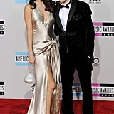 With Justin Bieber.