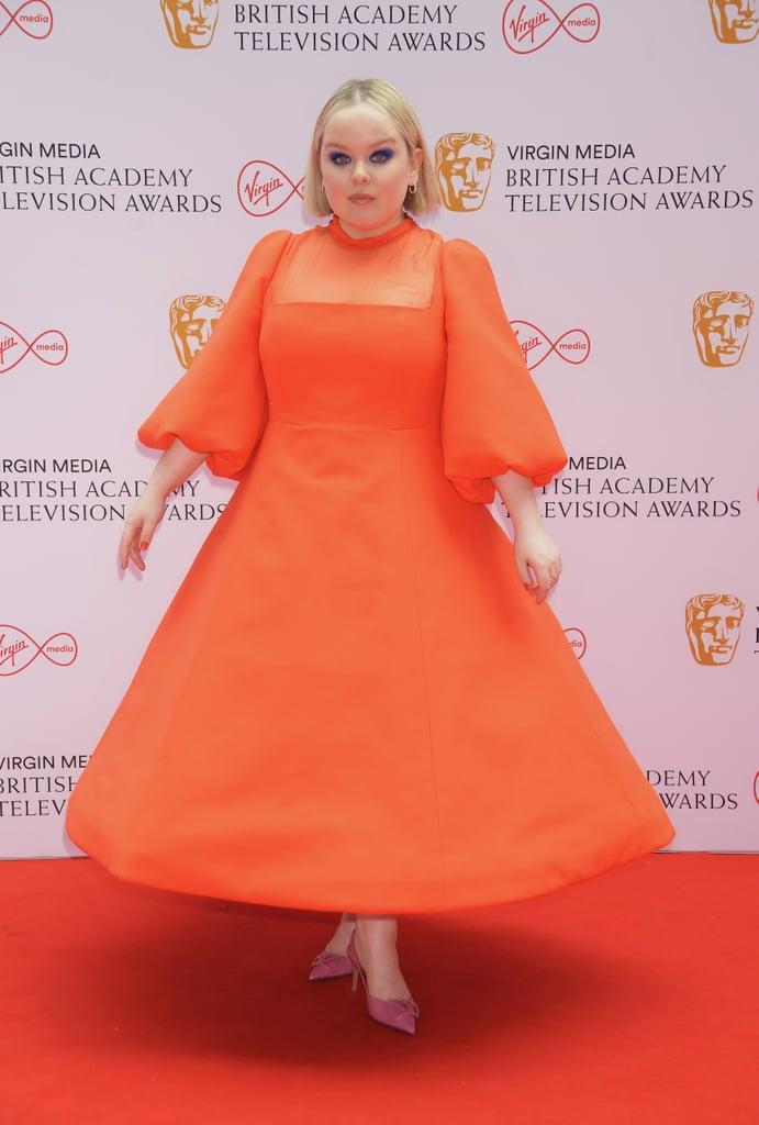 Nicola Coughlan at the BAFTA TV Awards 2021