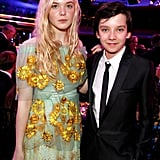 Elle Fanning and Asa Butterfield