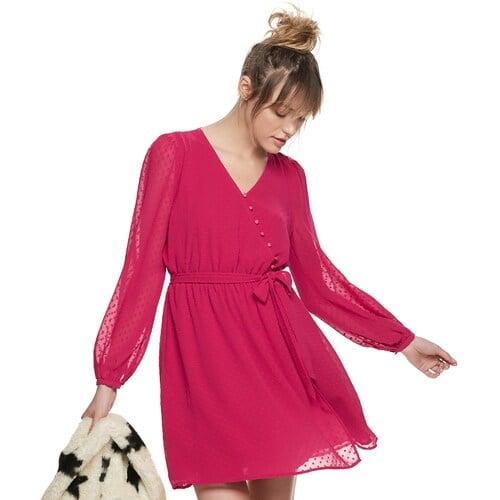 POPSUGAR Surplice Mini Dress