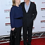 They shared a look of love at the NYC premiere of The Iron Lady in 2011.