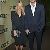 Naomi Watts and Liv Schreiber held hands in LA.