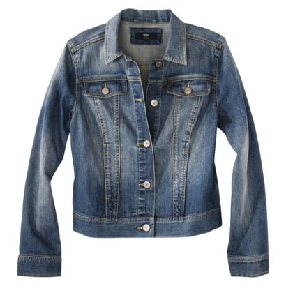 Don't forget your denim jacket! This Mossimo jean jacket ($30) makes layering easy.