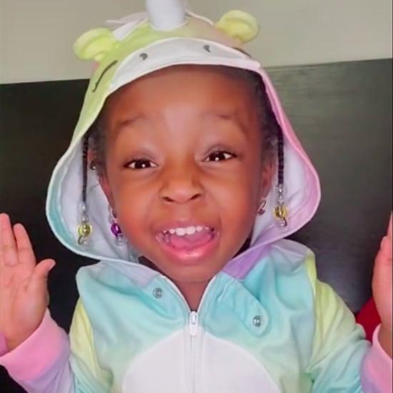 Toddler Practices ABCs Through Affirmations   TikTok Videos